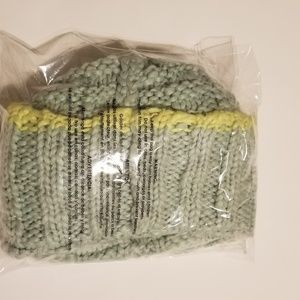 77af90464df8d Urban Outfitters Accessories - KIMCHI BLUE Urban Outfitters Knit Beanie w   Puffs